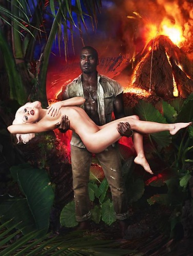 David LaChapelle × Lady Gaga × Kanye West - Gaga Book