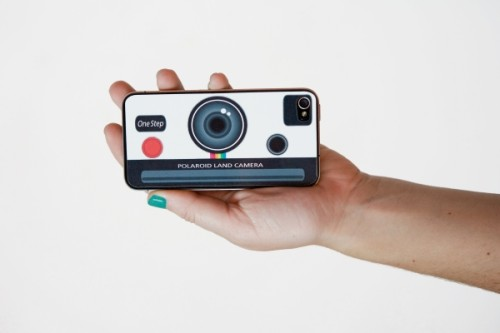 The Polaroid iPhone Decal