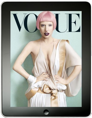 Vogue Cover Exclusive – iPad App