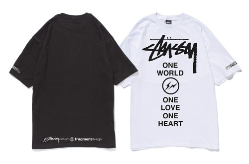 Stussy One World One Heart