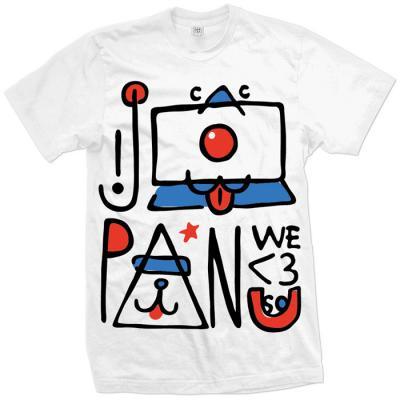 Japan We <3 U So Tee