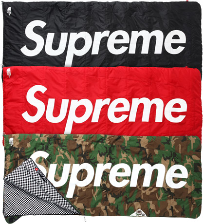 Supreme × The North Face Dolomite Sleeping Bag