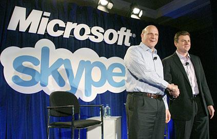 Microsoft to Acquire Skype