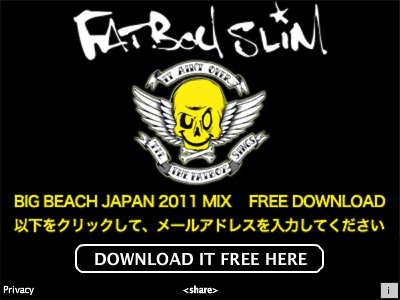 Fatboy Slim – Big Beach Japan 2011 Mix