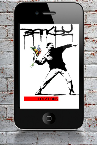 Banksy-Locations for iPhone
