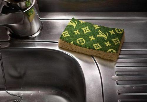 Louis Vuitton Cleaning Sponge