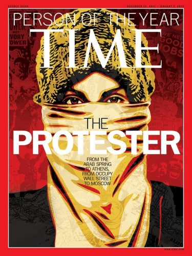 The Protester - TIME's Person Of The Year 2011