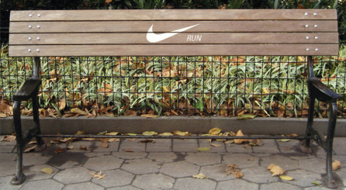 Nike Running Bench Ad