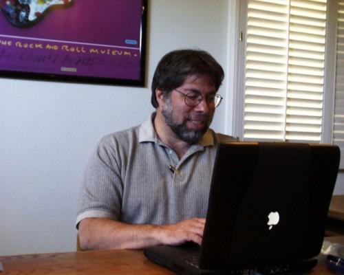 Steve Wozniak at Powerbook