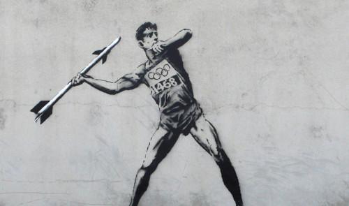 Banksy - London Olympics 2012
