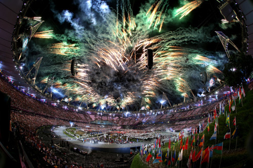 London Olympic 2012 Opening Ceremony