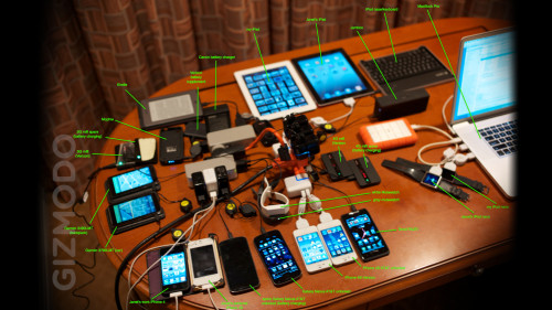 The Amazing Contents of Steve Wozniak's Travel Backpack