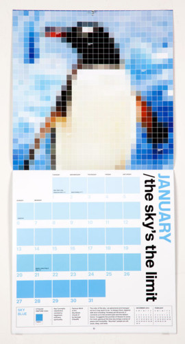 Pantone 2013 Calendar
