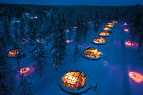 Igloo Village, Finland