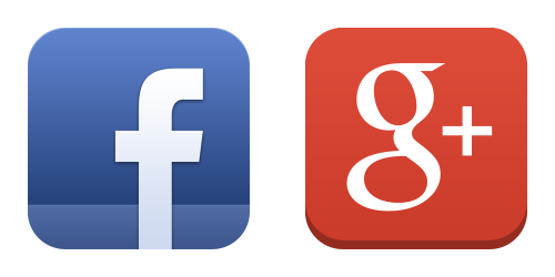 Facebook - Google Plus