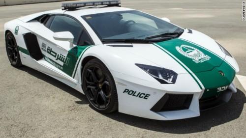 Lamborghini Dubai Police