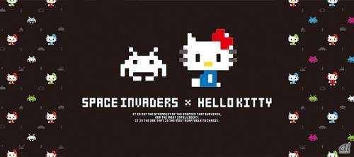 SPACE INVADERS × HELLO KITTY