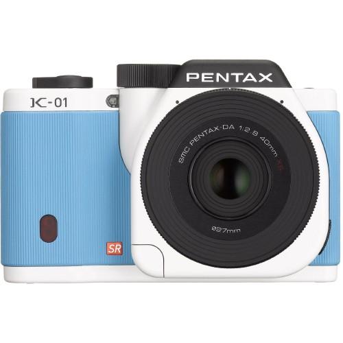 Pentax K-01 White x Blue