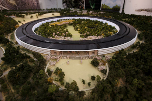 Apple's New Campus In Cupertino
