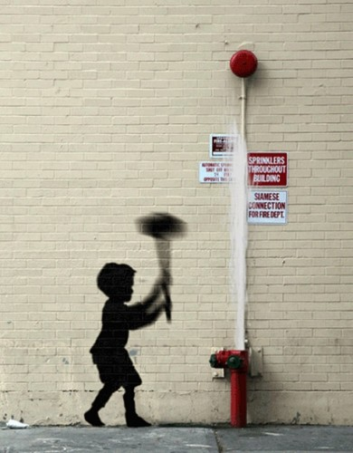 Banksy Pieces Transformed Into GIF Animations