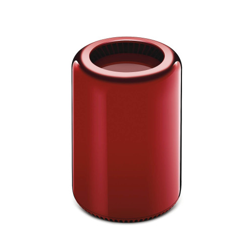 Red Apple Mac Pro Customized by Jony Ive and Marc Newson