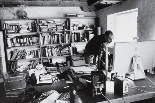 Steve Jobs' Workspace