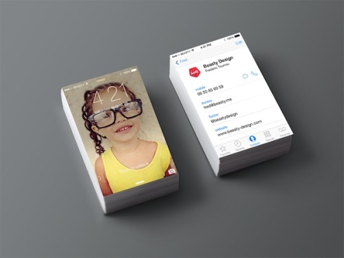 iPhone Business Card Vol.2