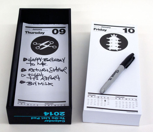 Calendar To-Do List Pad