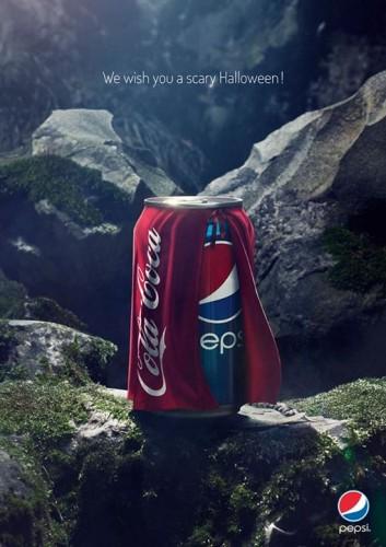 Pepsi Halloween Ad