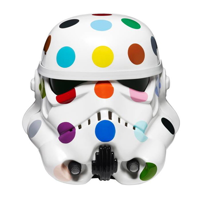 Spot Painted Art Wars Stormtrooper Helmet
