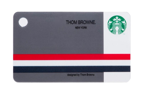 Starbucks Mini Card Designed by Thom Browne