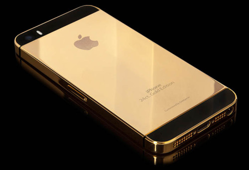 Apple iPhone 5S 24 Carat Gold Edition