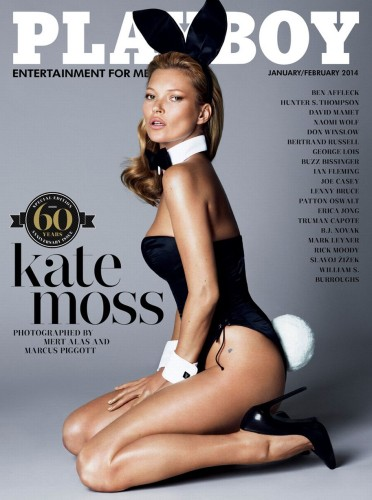 Kate Moss' Playboy 60th Anniversary Cover