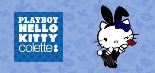 Hello Kitty x Playboy Collection by colette