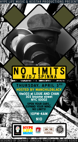 Live At No Limits w/DJ Spinna