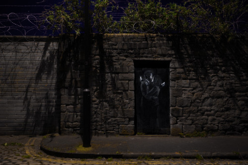 New Banksy Mural Of Lovers Who Are More Into Their Phones Than Each Other