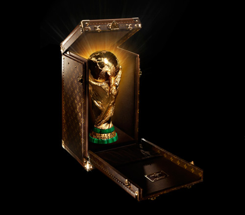 2014 FIFA World Cup Trophy Case by Louis Vuitton