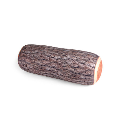Kikkerland Log Pillow