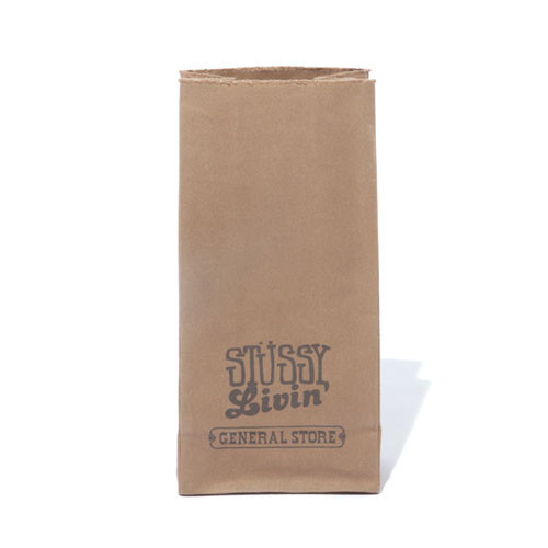 Stussy Livin' General Store Medium Brown Bag