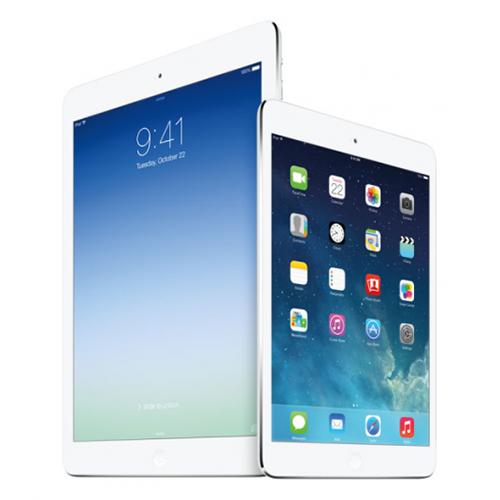 iPad Air iPad mini Retina