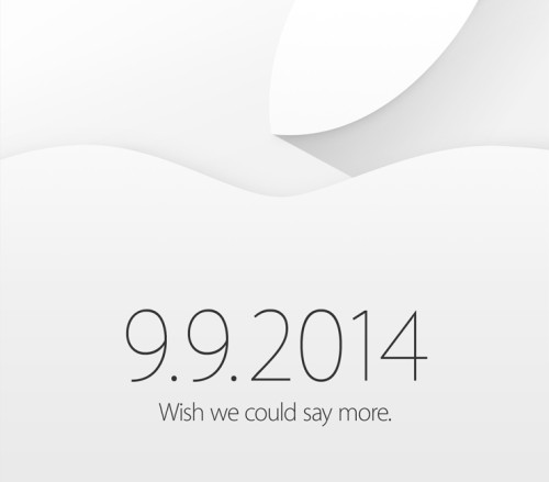 Apple Announces Special Event for September 9th