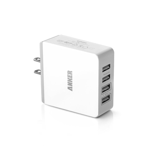 Anker 36W 4-Port USB Wall Charger Power Adapter