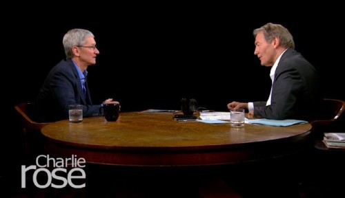 Apple CEO Tim Cook Talks To Charlie Rose