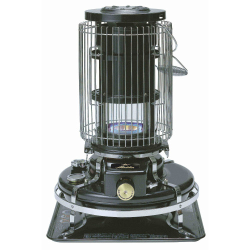 Aladdin Blue Flame Heater Black