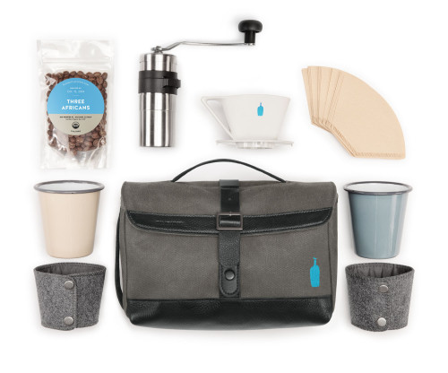 Timbuk2 × Blue Bottle Travel Coffee Kit