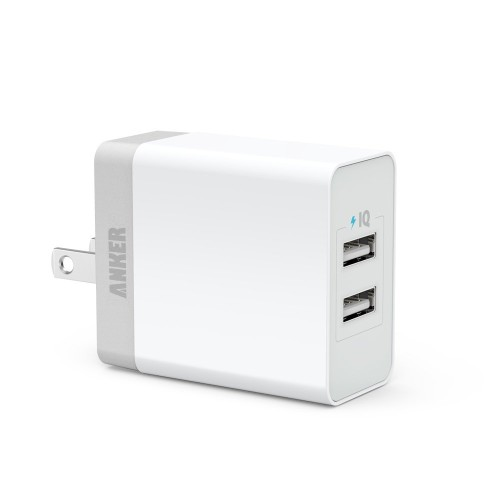 Anker 20W Dual-Port USB Wall Charger