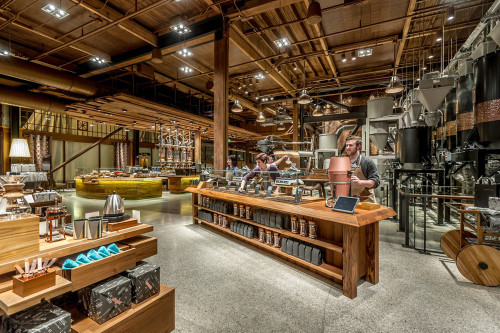 Starbucks Roastery and Tasting Room
