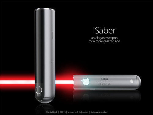 Apple Lightsaber