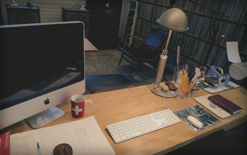 The Desk Of Haruki Murakami