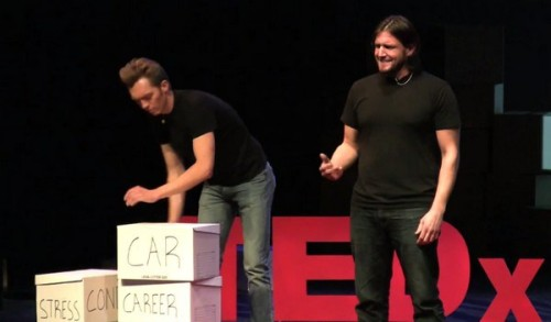 The Minimalists - A Rich Life With Less Stuff - Tedx Whitefish